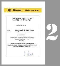certyfikat podłogi drewniane cyklinowanie