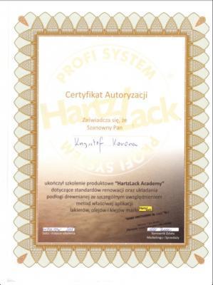 Certyfikat Autoryzaji
